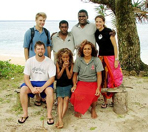 Waitabu Park Staff, Lavena village manager and CORAL staff, 2008