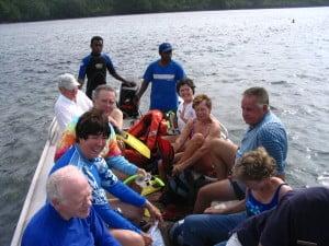 Spirit of Oceanus tourists