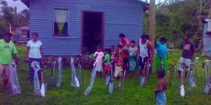 Elia donates farming tools