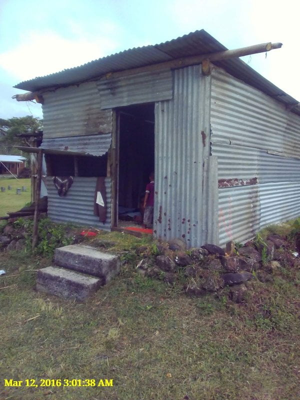 Waitabu Village - FIJI - Cyclone Winston Appeal