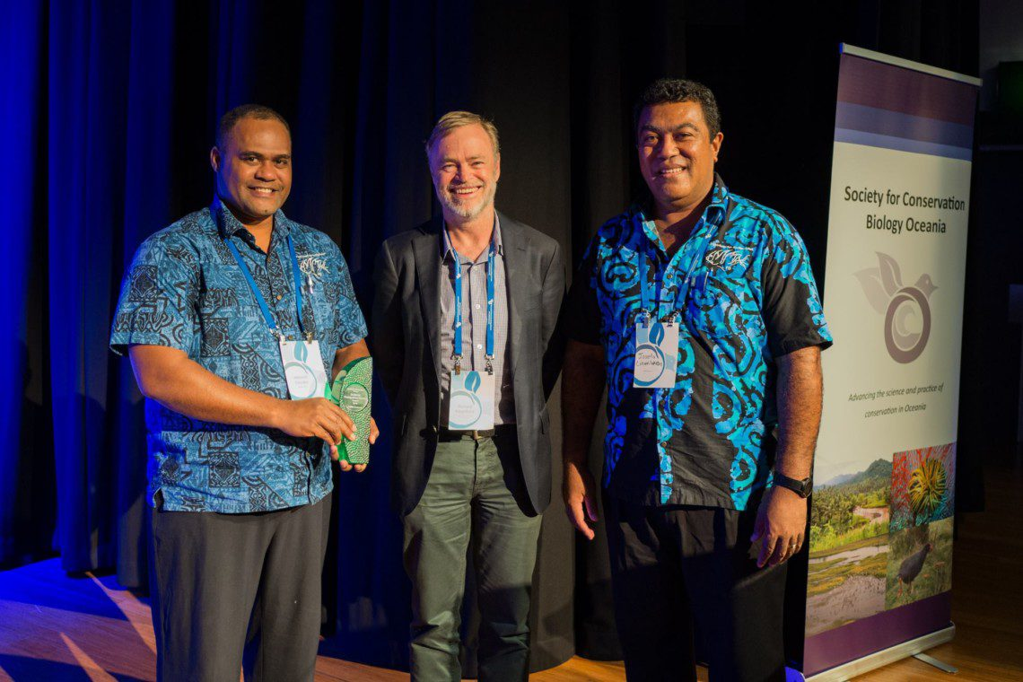 LMMA Network warded the 2016 Distinguished Service Awards at the Society of Conservation Biology- Oceania