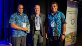 LMMA Network awarded the 2016 Distinguished Service Awards at the Society of Conservation Biology- Oceania