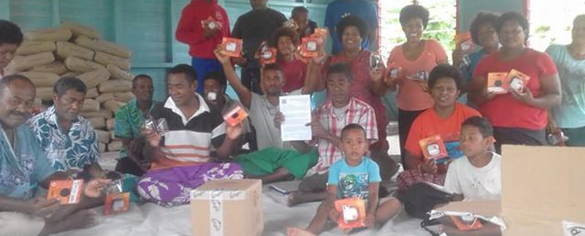 d.light A1 Solar Lanterns for Cyclone Preparedness