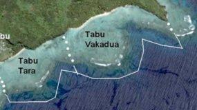 Preparing to open the Temporary Tabu (Tabu Tara) in Waitabu MPA