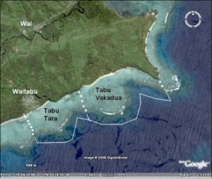 Waitabu's marine protected area