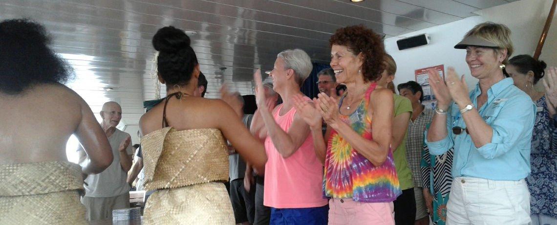 Visit onboard ORION – Lindblad Cruises