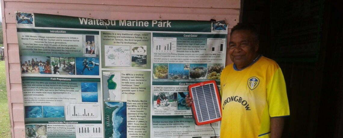 New Solar Power for Waitabu Marine Park