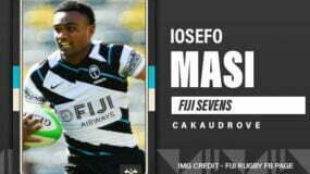 Rookie Team Fiji men's rugby sevens forward Iosefo Masi